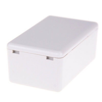 White Waterproof Plastic Electric Project Case Junction Box 60*36*25mm ^F