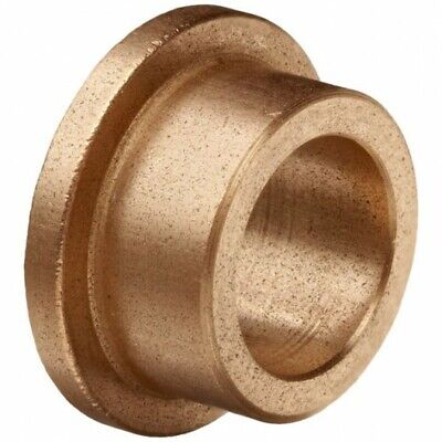 Oilite Bronze Bush Flanged 20mm bore x 24mm OD x 25mm long (30 x 3 flange)