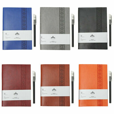 A5 Leather Vintage Lined Pages  Notepad Notebook Note Book Journal Diary Gift