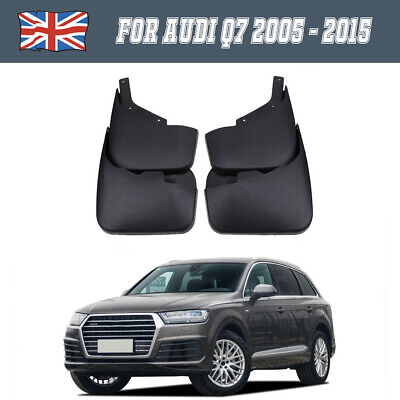 A Set For Audi Q7 2005-2015 OEM Mud Flaps Mud Guards Dirt Protection Protector