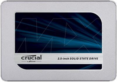 "✅Crucial MX500 500GB 2.5"" SATA III ssd Hard Disk Solido solid state 500GB NAND✅"