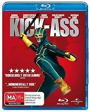 Kick Ass Blu Ray - Aaron Taylor-Johnson, Nicholas Cage, Chloe Moretz, Hit Girl