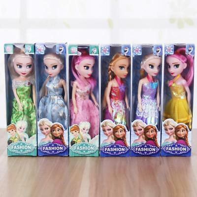 1p Movie Frozen Princess Figures Baby Girl Playset Doll Toy Random hq12