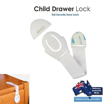 Child Safety Drawer Locks Baby For Cabinet Door Toilet Seats Security Protection
