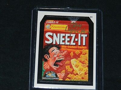 Wacky Packages Sneeze It Signed by Jay Lynch
