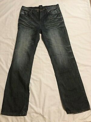 Buffalo By David Bitton Driven Straight Boys Designer Jeans Size 20 X 32.5