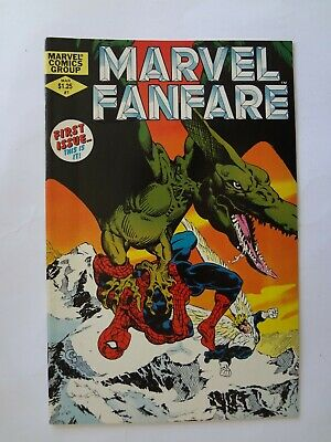 MARVEL Fanfare Vol 1, #1 (1982) - VF/NM (Spider-Man, X-Men)