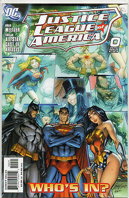 JUSTICE LEAGUE of AMERICA #0 J Scott Campbell 1:10 VARIANT 2006