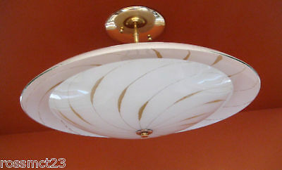Vintage Lighting Mid Century Modern ceiling fixture. I HAVE FIVE MORE!