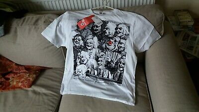 Rare Vivienne Westwood Red Nose Day The Laughing Audience T Shirt. Original Tags
