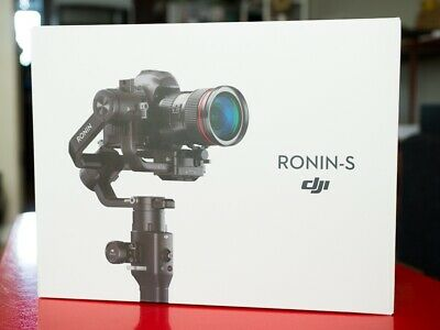 DJI Ronin S Camera Gimbal 3-Axis Motorized Stabilizer - EXCELLENT CONDITION