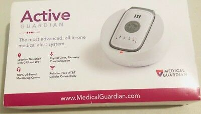 Medical Guardian - Active Guardian Medical Alert System-Open Box