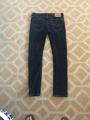 3611761c0b9 MEN'S LEVI'S 510 Black Skinny Jeans Size 36x29 New With Tags ...
