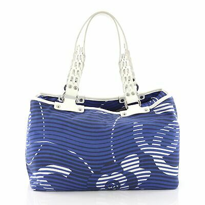 6a02135d977f CHANEL CAMELLIA BEACH Tote Printed Terry Cloth Large -  870.00 ...