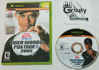 USED Tiger Woods PGA Tour 2005 Microsoft XBOX Canadian Seller