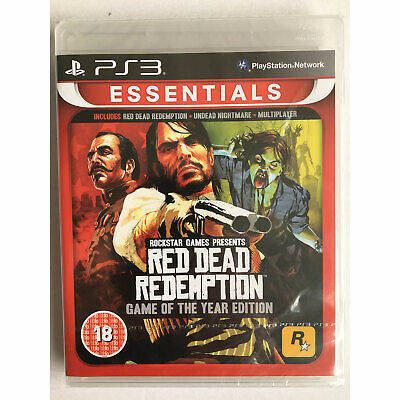 Red Dead Redemption Game of the Year GOTY (PS3) New and Sealed