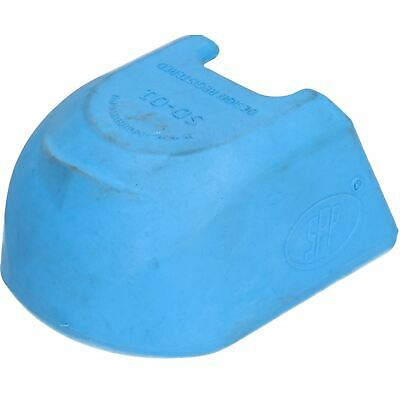 Trailer Pressed Steel Hitch Coupling Soft Cover Protector High Visibility Blue