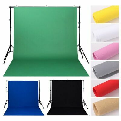 Green Screen Photography Background Studio Backdrop Chroma key 1.6mx4/3/2m Video