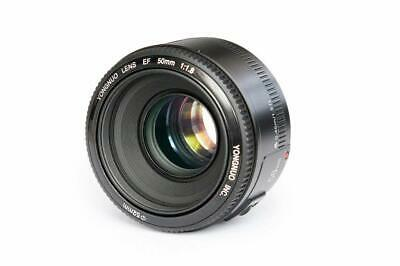 YONGNUO YN 50mm F1.8 Standard Prime Lens Large Aperture For Canon EF EOS Cameras