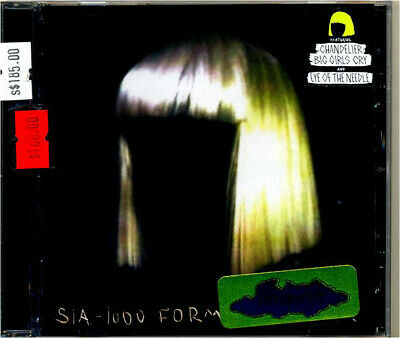 1000 Forms of Fear by Sia (NEW CD, Jul-2014, RCA) (58)