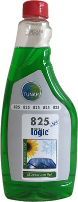 Tunap 500ml Screen Wash Screenwash Concentrated Windscreen Washer Fluid -20°C