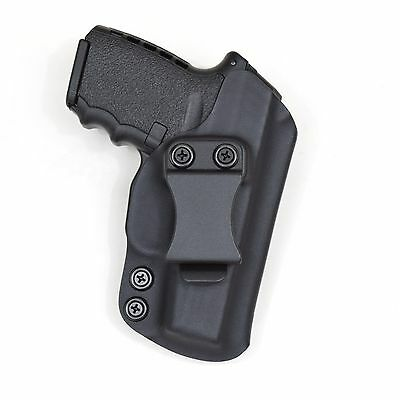 Badger State Holsters- SCCY CPX-2 IWB Black Custom Kydex Holster