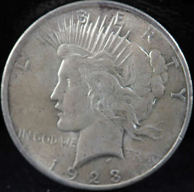 1923 P Peace Silver Dollar About Uncirculated (AU) - SKU 271US