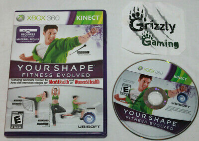 USED Your Shape: Fitness Evolved Microsoft XBOX 360 -Canadian Seller-