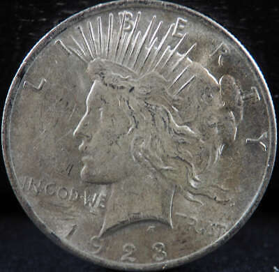 1923 P Peace Silver Dollar About Uncirculated (AU) - SKU 278US