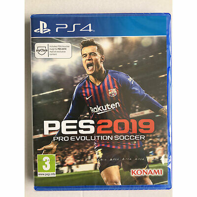 Pro Evolution Soccer PES 2019 (PS4) New and Sealed