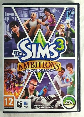 The Sims 3 Ambitions: Expansion Pack for (PC: Mac, 2009) - Free post