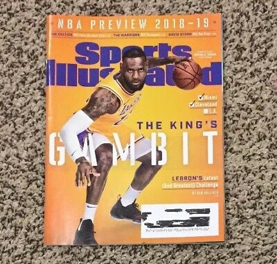 76c4223e1a59 Sports Illustrated October 2018-2019 NBA Preview LeBron James Los Angeles  Lakers