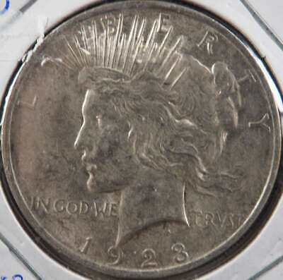 1923 P Peace Silver Dollar About Uncirculated (AU) - SKU 284US