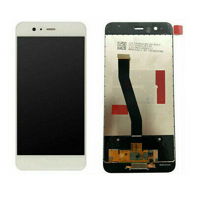 Touch Screen Vetro + Lcd Display Per Huawei P10 Vtr-L09 Vtr-Al00 Bianco