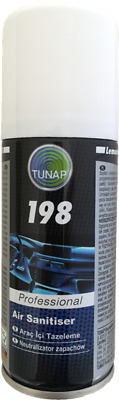Tunap 198 Air Con Cleaner Bomb Anti-bacterial Sanitiser Odour Eliminator