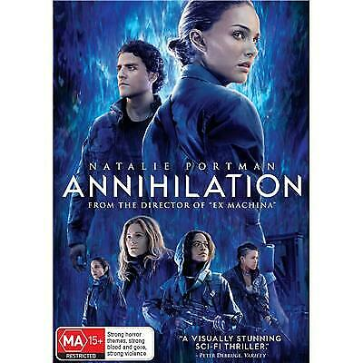 Annihilation Dvd, Brand New & Sealed, 2019 Release, Free Post
