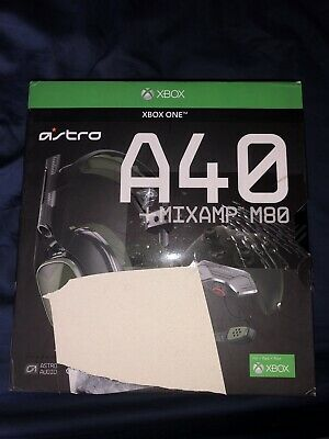 Xbox One Astro Gaming A40 Tr Headset With M80 Mixamp
