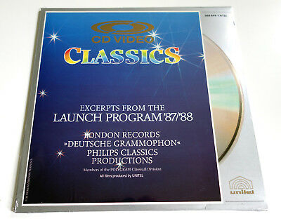 Excerpts from the Launch Program ´87/´88 | NTSC | LASERDISC still sealed