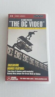 PSP The DC Video (Deluxe Edition UMD) Danny Way Jumps The Great Wall of China