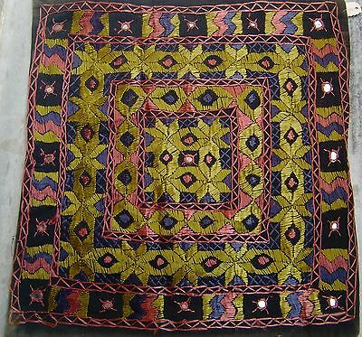 Old Fine Beautiful Handmade Patch Work Cushions/pillow Covers Vintage India
