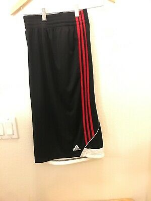 ADIDAS 3G Speed 2 Men's Shorts. Size 2XL Red and Black