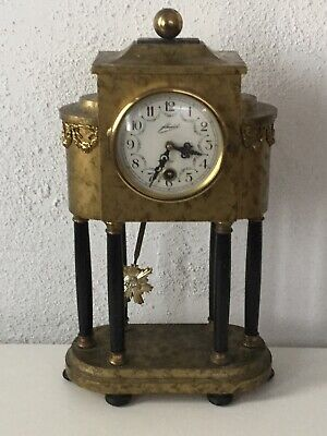Antique German Mantel Clock