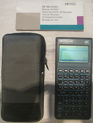 Calculatrice HP 48GX RPN