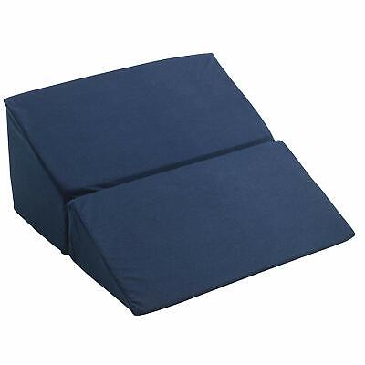 Folding Bed Wedge Pillow Foam Body Positioner Elevate support Back Neck Pain