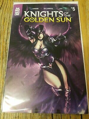 Knights Of The Golden Sun #5 NM Cover A 1st Print Mad Cave Comics 2019 🔥🔥🔥🔥