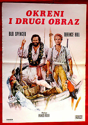 Turn The Other Cheek 1974 Bud Spencer Terence Hill Franco Ross Exyu Movie Poster