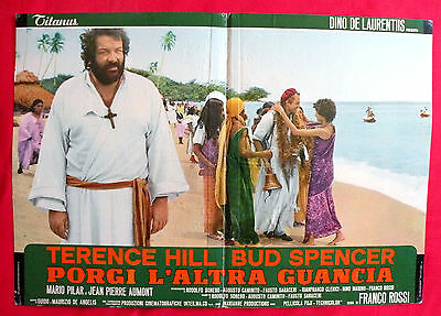 Turn The Other Cheek 1974 Bud Spencer Terence Hill Unique Book Movie Poster # 3