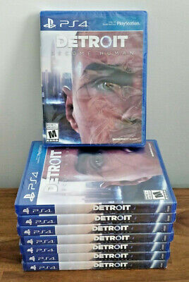 Detroit Become Human (PS4) Brand New & Sealed! Free Shipping!