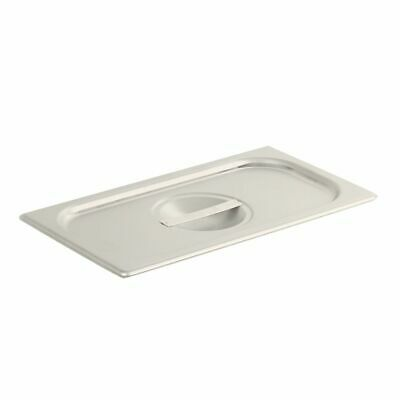 Vollrath 75139 Solid Stainless Steel 1/3 Size Pan Lid