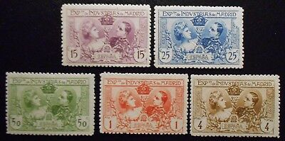 Spain Madrid Exposition 1907, Mint no gum as issued (Lot CYU)